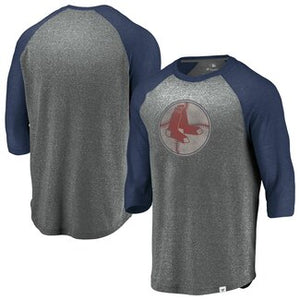 Boston Red Sox Coop Massive Devotees Gray Shirt