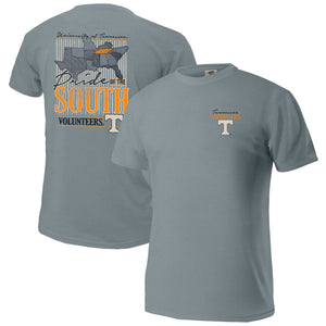 Tennessee Volunteers Pride of the South Comfort Colors Image One Gray T-Shirt