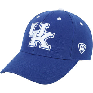 NCAA Kentucky Wildcats Hat Premium Memory (M/L) Blue Hat