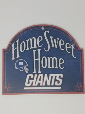 New York Giants Home Sweet Home Arch Sign