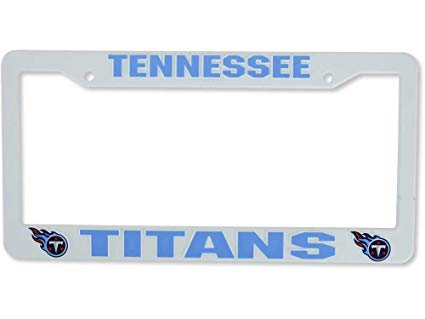 Tennessee Titans Plastic License Plate Frame