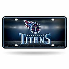 Tennessee Titans Metal License Plate Tag