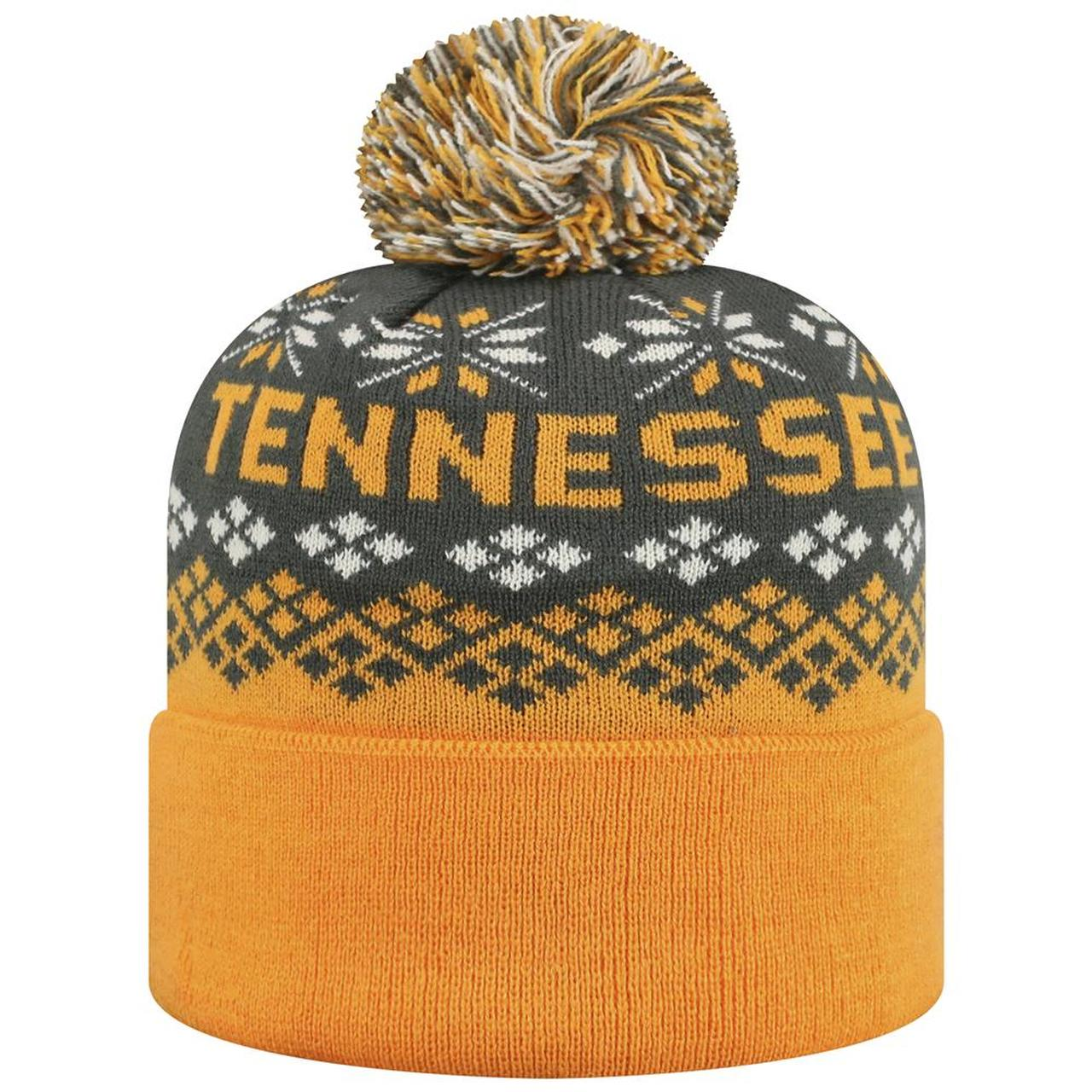 Tennessee Volunteers Advisory Cuffed Knit Three-Tone Beanie