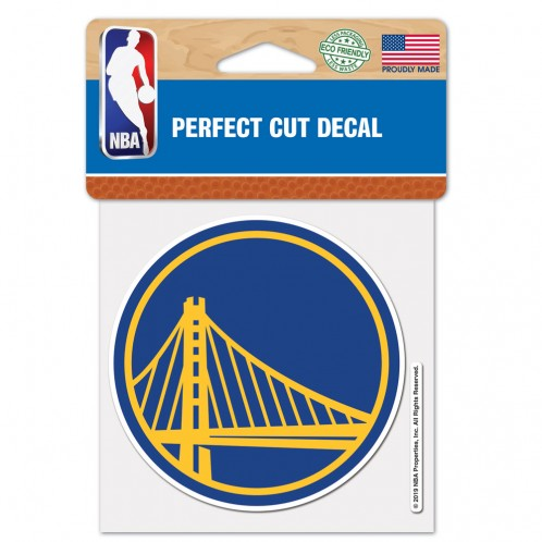 Golden State Warriors 4x4 Die Cut Decal