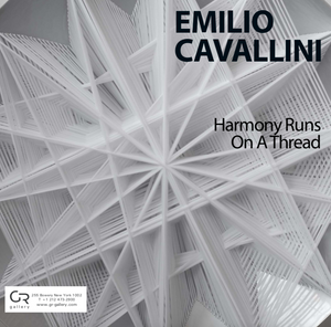 Emilio Cavallini, Harmony Runs on a Thread | Art Catalogue