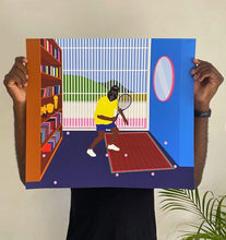 """ Exercise Indoor"" Dennis Osadebe Print"