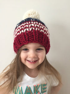 Littles Ones Stars and Stripes Beanie