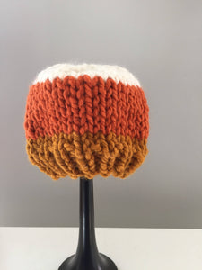 Kids Candy Corn Beanie