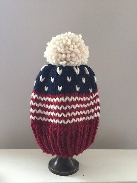 Stars and Stripes Matching Hat Set