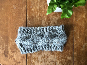 Adult Cabled Headband