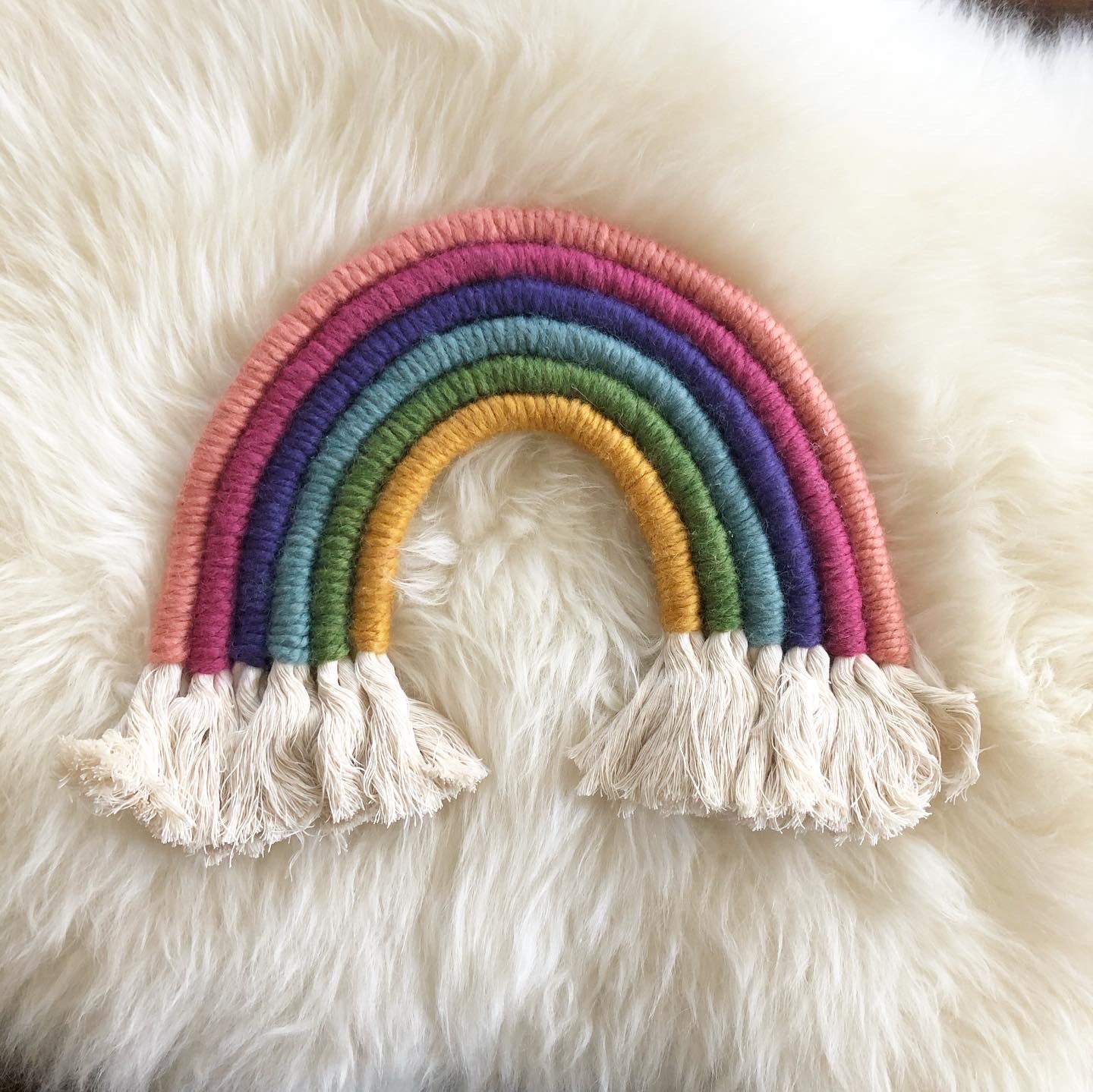 Large Meggles Knits Rainbow
