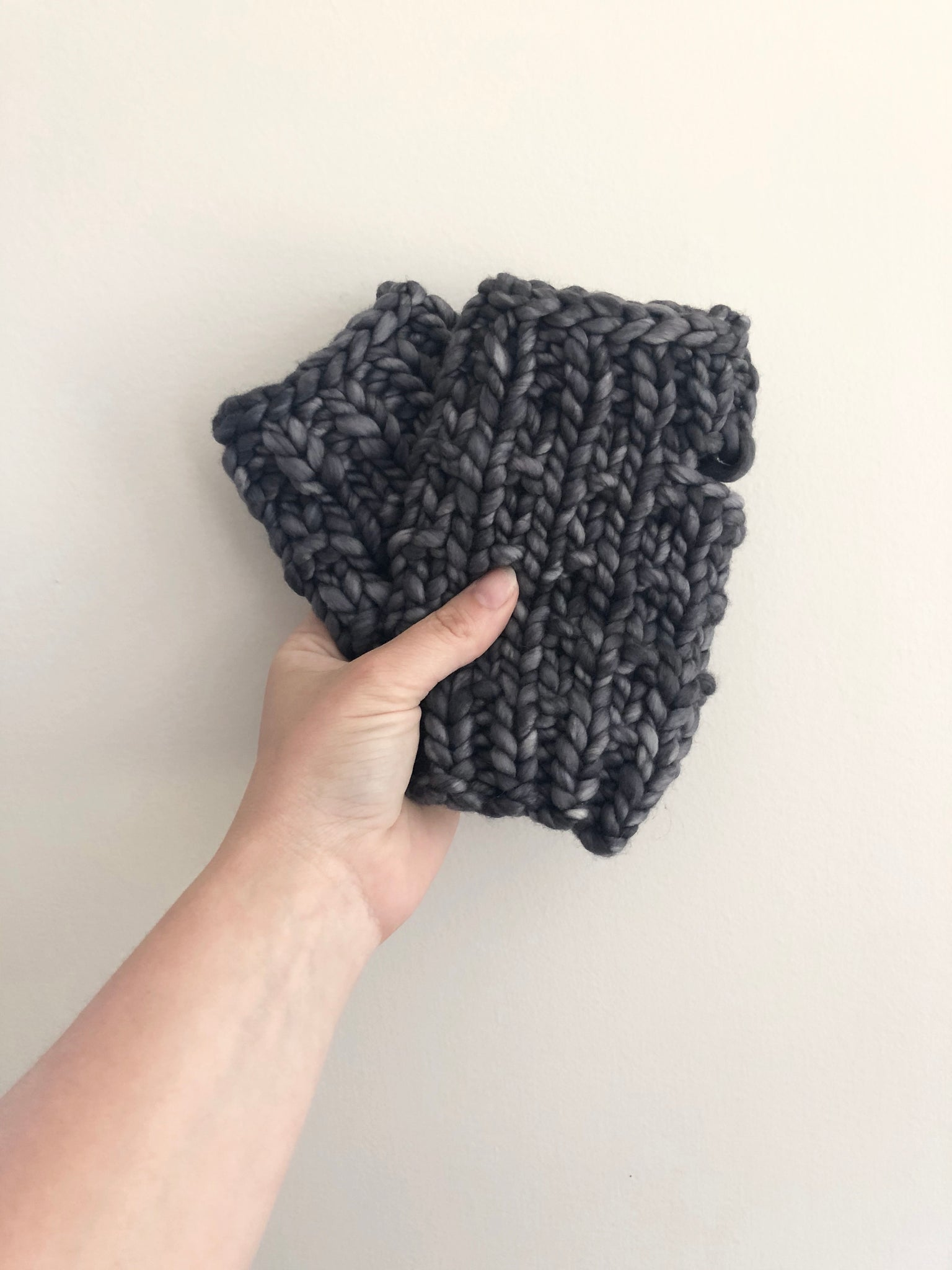 Luxury Line Fingerless Mitts