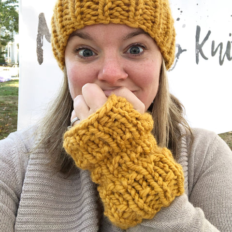 Made to Order Adult Fingerless Mitts