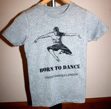 "Boys Dance 2 ""Marcus"" T-shirt in Heather Grey"