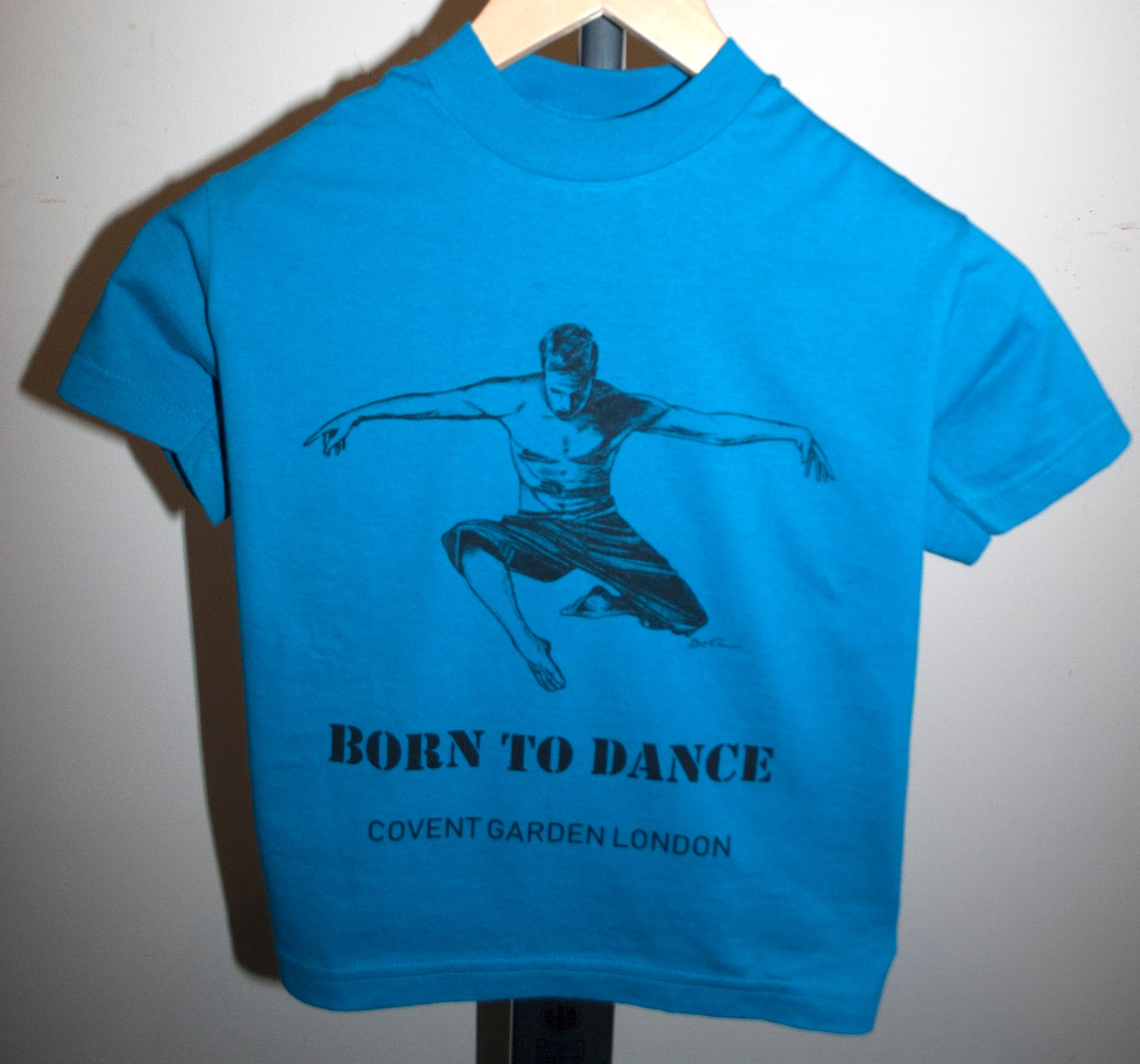 "Boys Dance 2 ""Marcus"" T-shirt in Mid Blue"