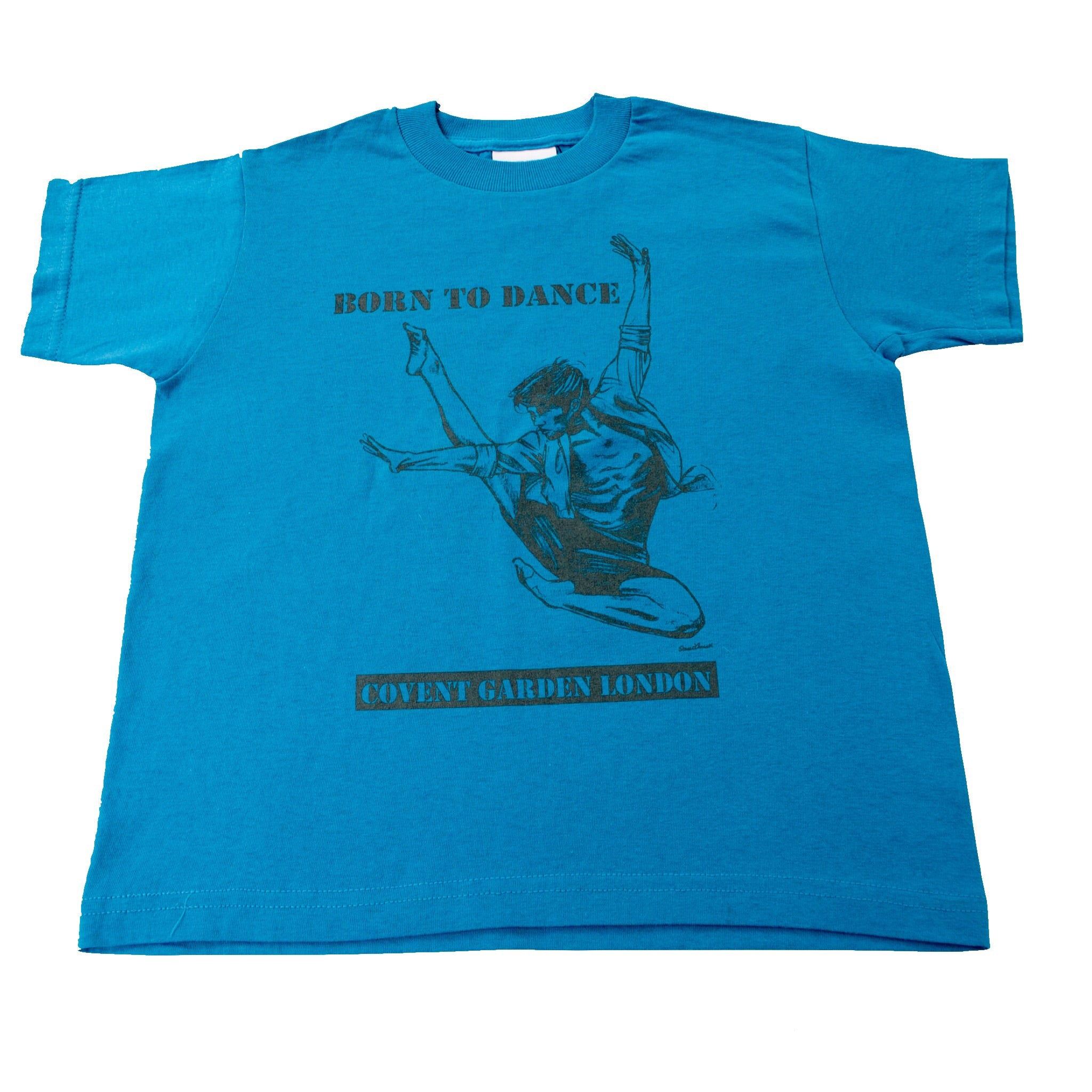 "Boys Dance 2 ""Alex"" T-shirt in Blue"
