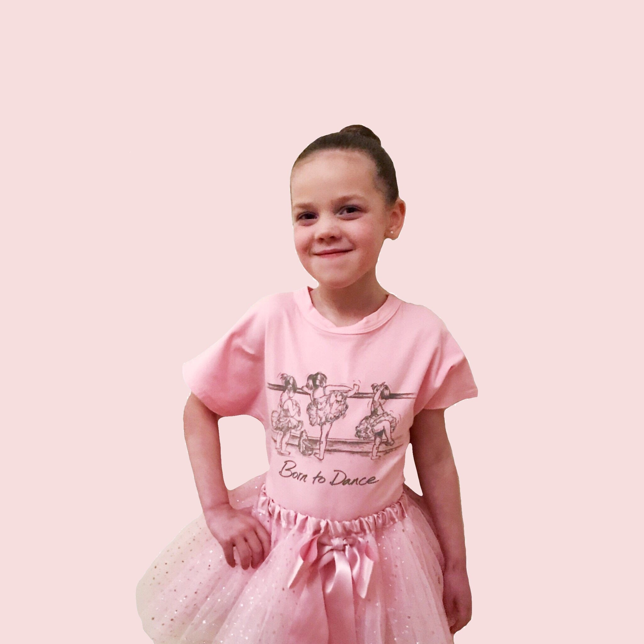 """At The Barre"" Kids T-shirt"