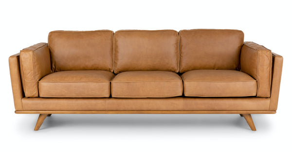 Woodland Charme Tan Sofa