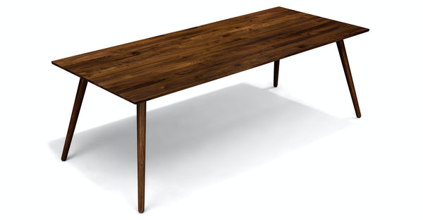 Soriel Walnut Dining Table For 8