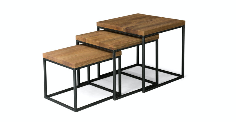 Boreal  Oak Nesting Tables