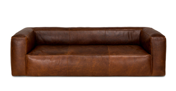 Havana Rawhide Brown Sofa