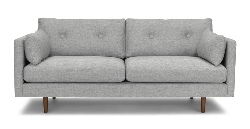 "Anton Winter Gray 74"" Sofa"