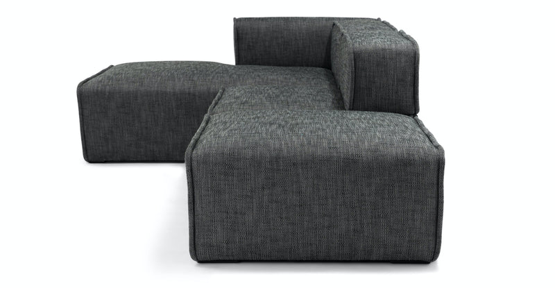 Podium Carbon Gray Left Chaise Modular Sectional