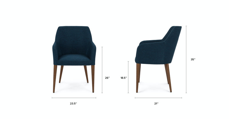 Revel Twilight Blue Dining Chair