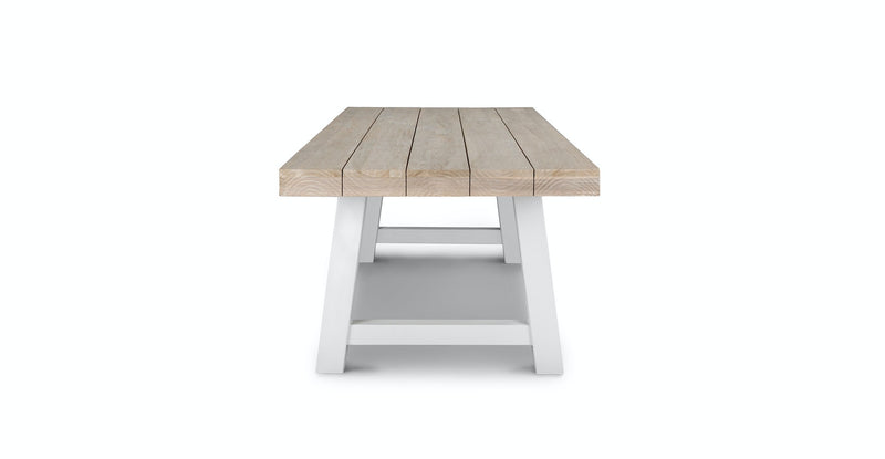 Tavern Driftwood Gray Dining Table for 10