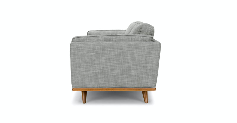 Woodland Pebble Gray Sofa