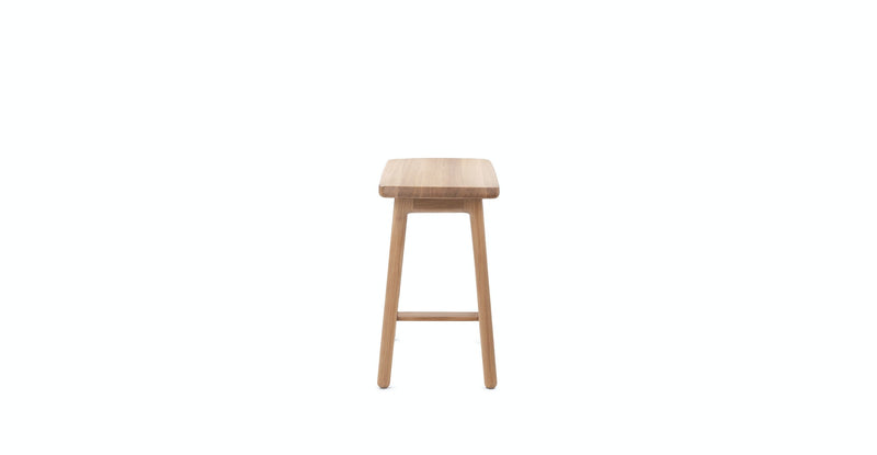 Austere Light Oak Stool