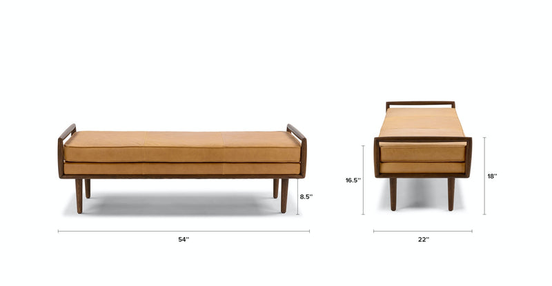 Arc Charme Tan Bench