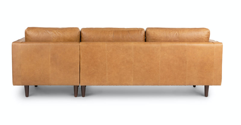 Auriese Tan Right Sectional Sofa