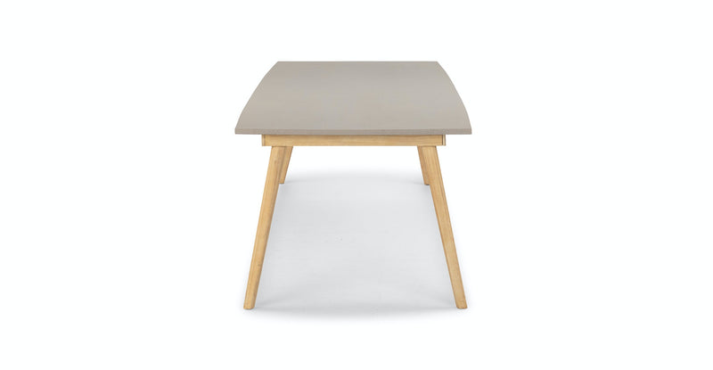 Zhenna Concrete Dining Table for 8