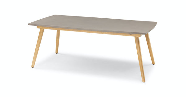 Zhenna Concrete Dining Table for 6