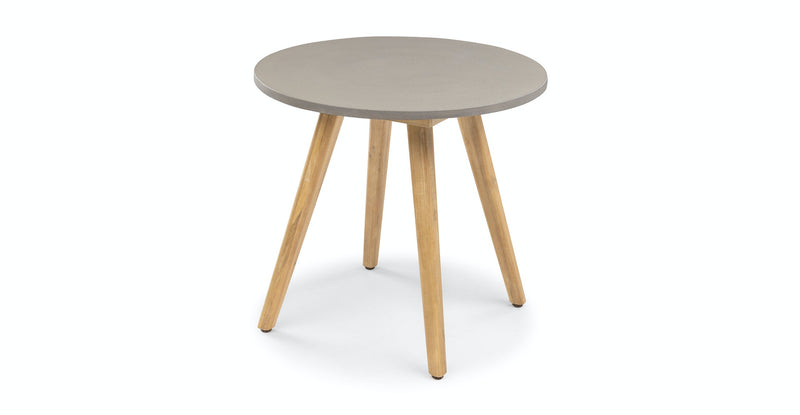 Zhenna Concrete Round Cafe Table