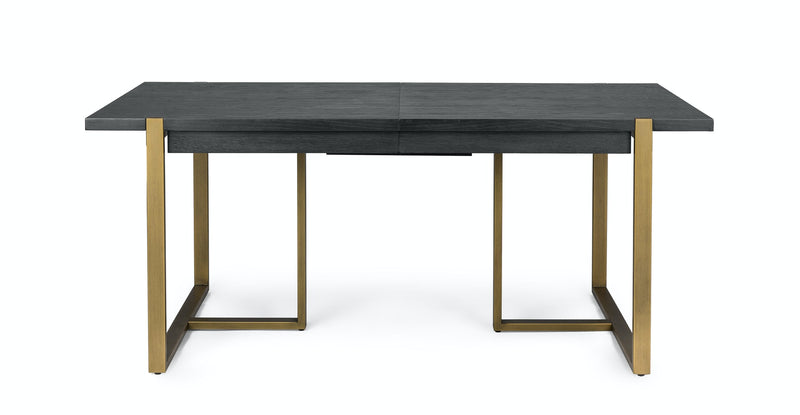 Sombrío Black Extendable Dining Table