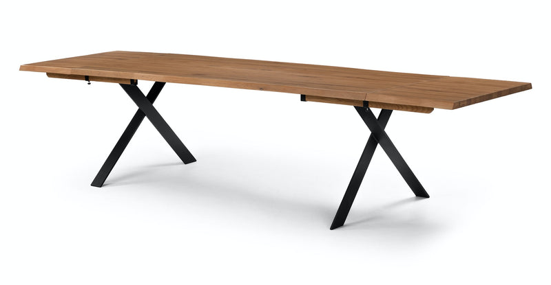 Party Oak Dining Table, Extendable