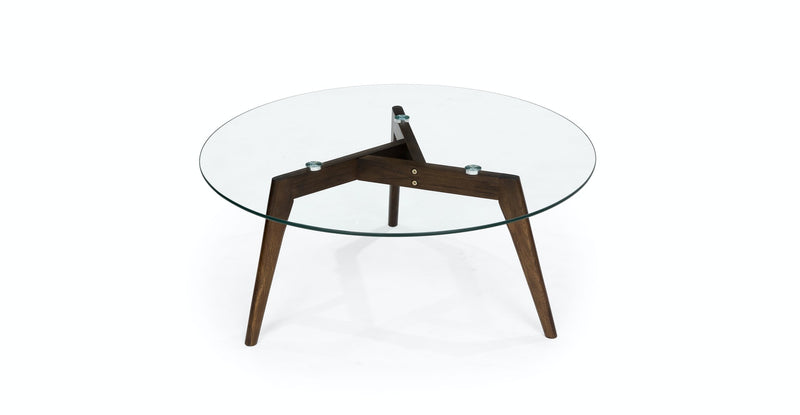 Lucid Walnut Coffee Table