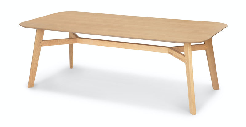 Kaisa Light Oak Dining Table for 8