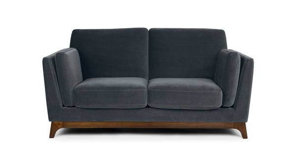 Clara Deep Sea Blue Loveseat