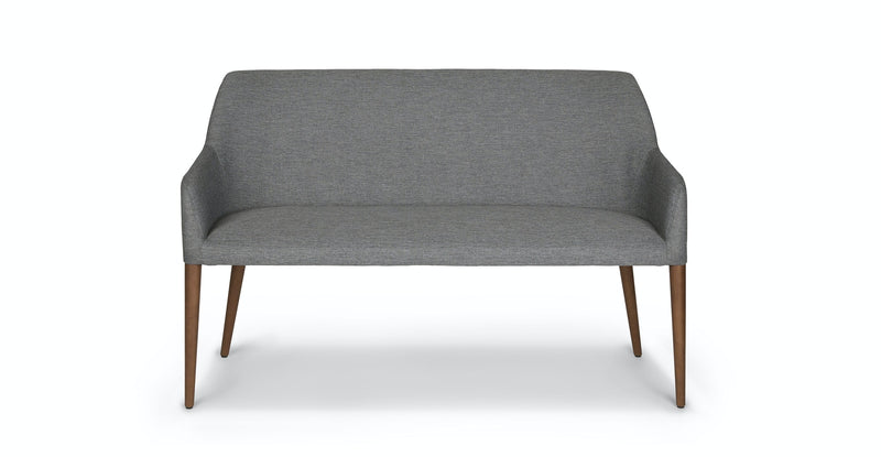 Revel Gravel Gray Dining Bench