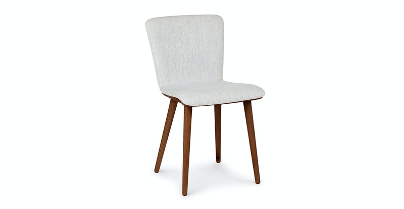 Campus Mist Gray Walnut Dining Chair