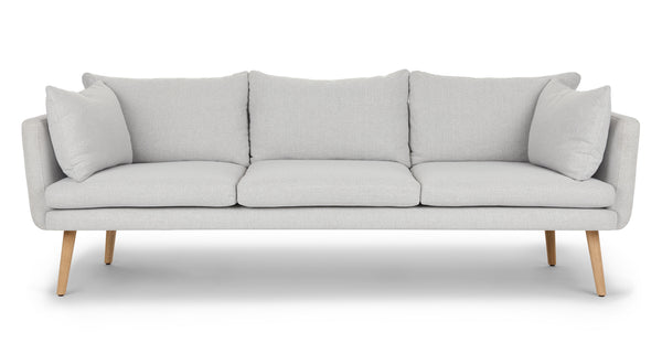Calix Drizzle Gray Sofa