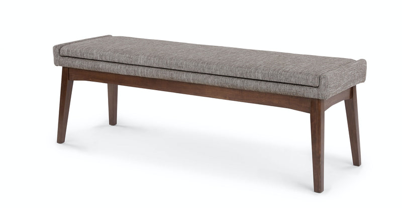 "Passage Volcanic Gray 56"" Bench"