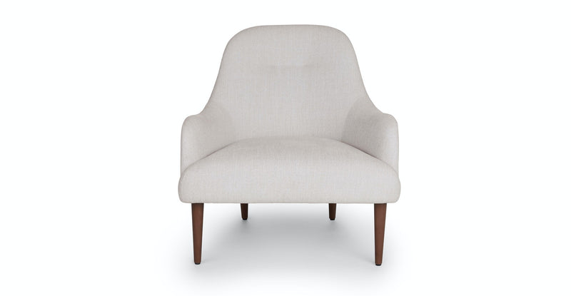 Enfold Coconut White Chair