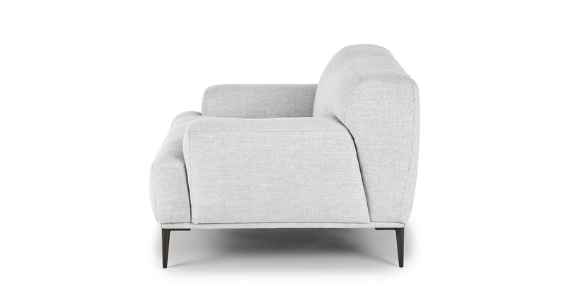 Arctic Mist Gray Lounge Chair