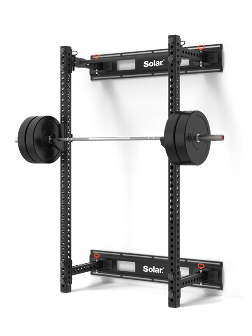 SQUAT RACK FOLDABLE WALL MOUNT