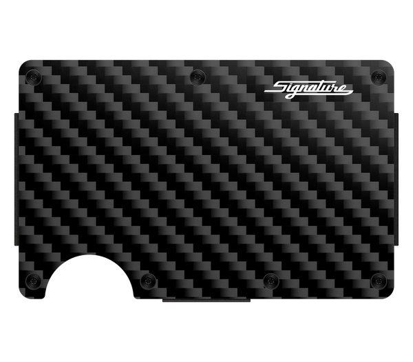 Signature Carbon Fiber Wallet