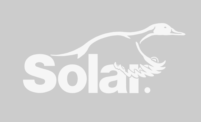 Solar Duck Window Decal